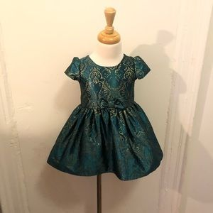 The Children Place , Green holiday Dress